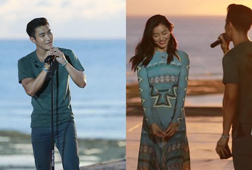 """Choi Siwon oferece uma serenata para Liu Wen no romântico episódio final da versão chinesa de """"We GotMarried"""""""