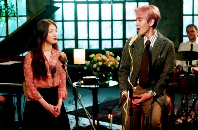 Suzy e Baekhyun liberam a canção de colaboração 'Dream'